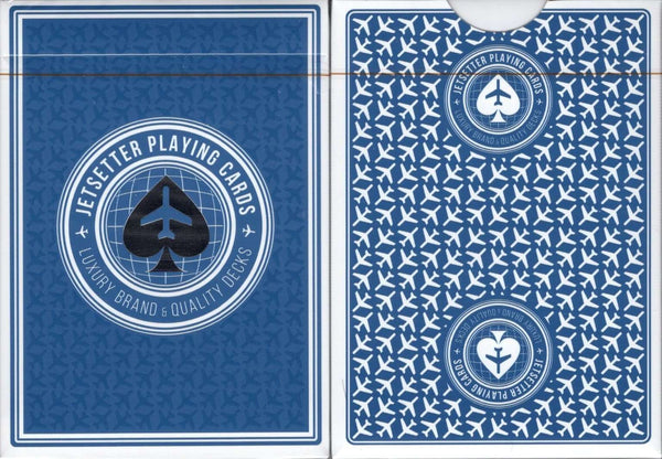 Jetsetter Premier Altitude Blue v2 Playing Cards EPCC tuck case