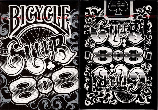 Club 808 Bicycle Playing Cards - PlayingCardDecks.com