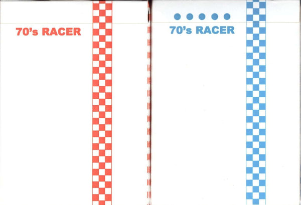 70's Racer Cardistry Playing Cards USPCC - Red & Blue