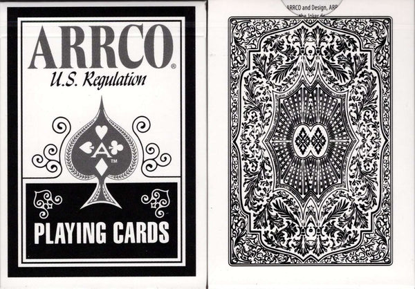 ARRCO White Playing Cards USPCC Tuck box
