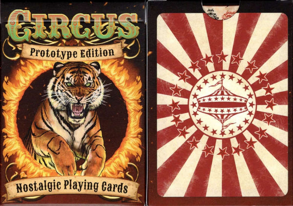 Circus Prototype Playing Cards: PlayingCardDecks.com
