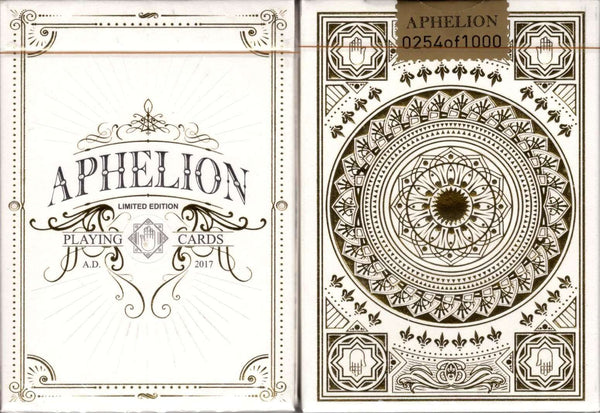 Aphelion Luxury Playing Cards LPCC Tuck Case