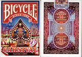Carnival Bicycle Playing Cards Tuck Box