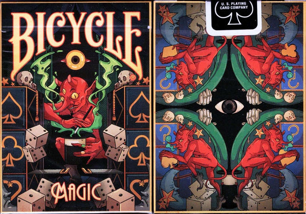 Magic Bicycle Playing Cards Tuck Box
