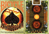 Armageddon Bicycle Playing Cards tuck box