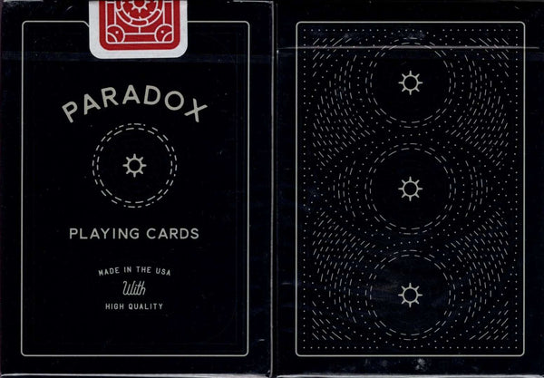 Paradox Playing Cards USPCC tuck case