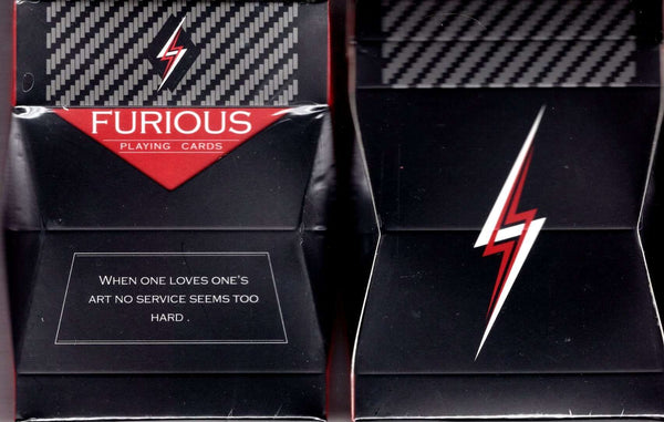 Furious Playing Cards USPCC Tuck boxes