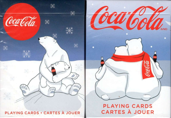 Coca-Cola Coke Holiday Polar Bear Playing Cards USPCC - 2 Editions