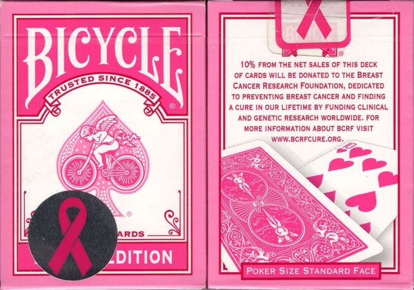 Pink Ribbon Edition 2008 Bicycle Playing Cards