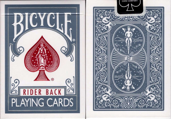 Titanium Steel Blue v2 Bicycle Playing Cards