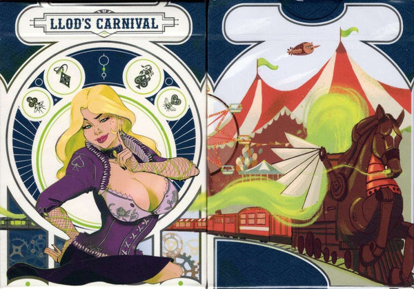 Llod's Carnival Playing Cards USPCC