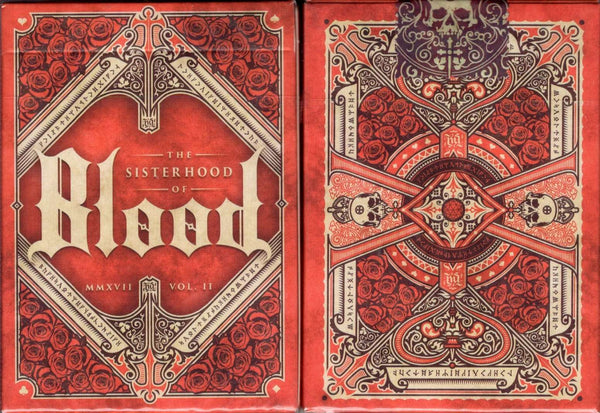 The Sisterhood of Blood v2 Playing Cards EPCC