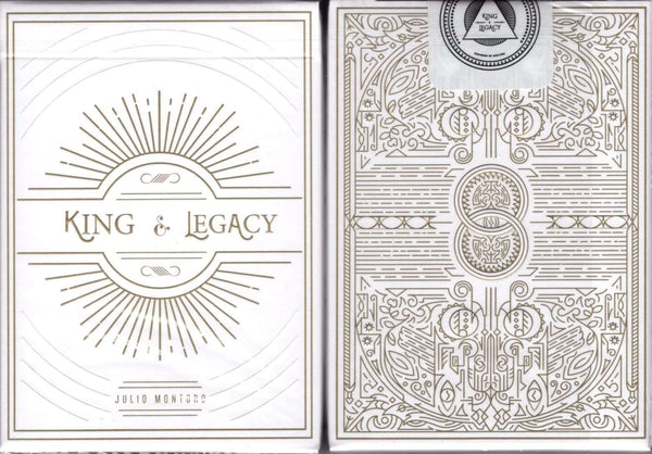 King & Legacy Gold Marked Playing Cards USPCC