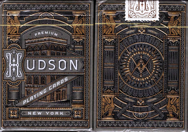 Hudson Black Playing Cards USPCC