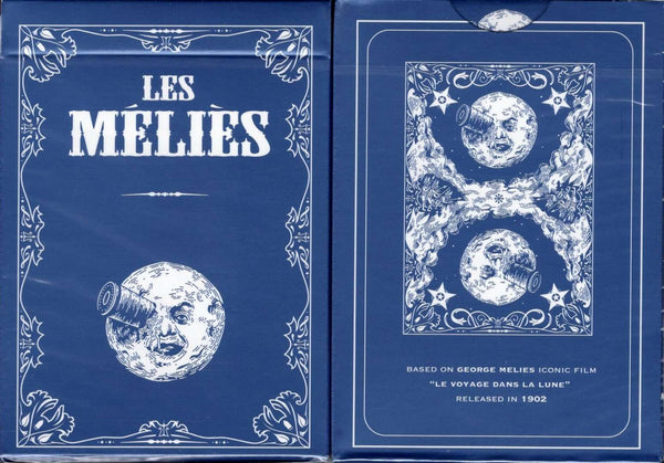 Les Melies Conquest Blue Playing Cards USPCC