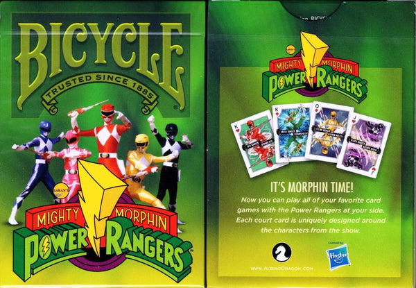 Power Rangers Bicycle Playing Cards