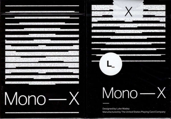 Mono - X Playing Cards USPCC