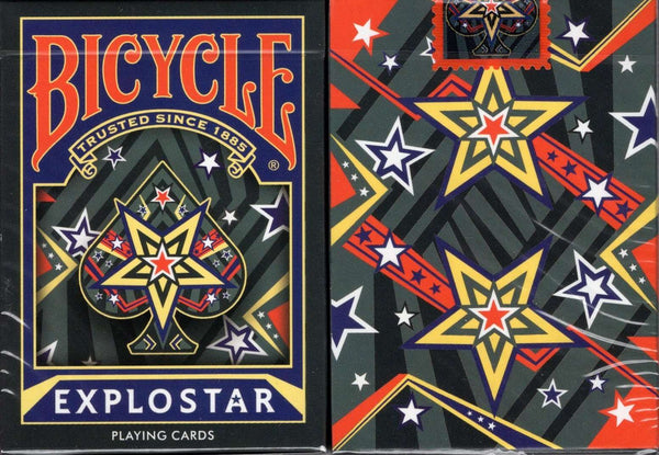 Explostar Cardistry Bicycle Playing Cards