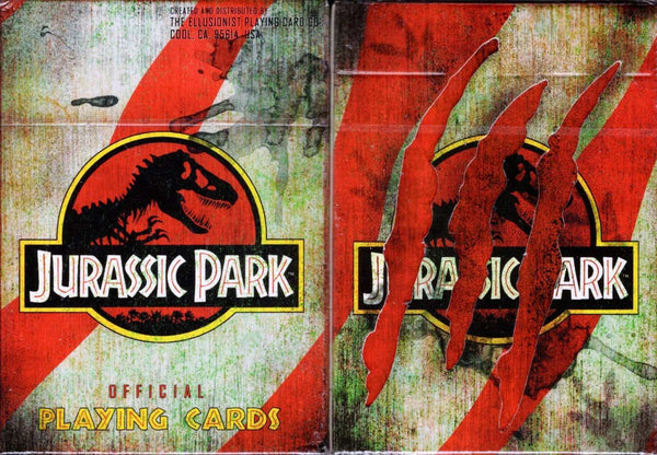 Jurassic Park Playing Cards Cartamundi