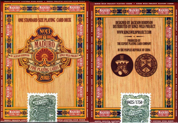 Maduro Gold Edition Playing Cards EPCC