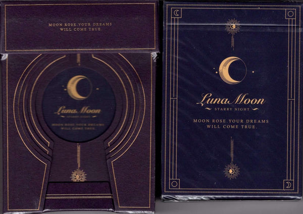 Violet Luna Moon Deluxe 2 Deck Set (Classic & Deluxe) Playing Cards USPCC