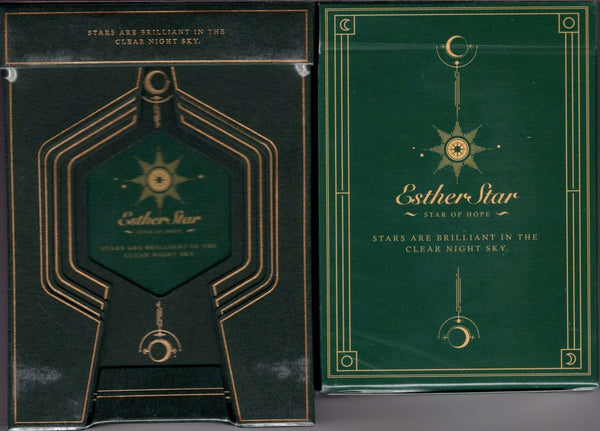 Esther Star Deluxe 2 Deck Set (Classic & Deluxe) Playing Cards USPCC