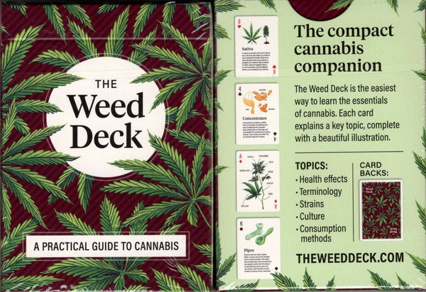The Weed Deck Playing Cards LPCC