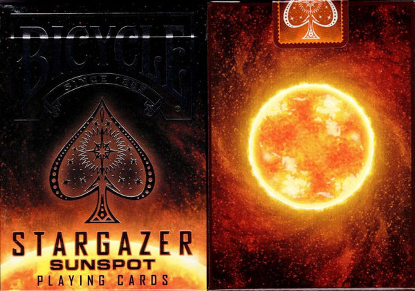 Stargazer Sunspot Bicycle Playing Cards