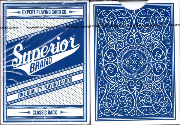 Superior Brand v2 Playing Cards EPCC: Blue