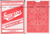 Superior Brand v2 Playing Cards EPCC: Red