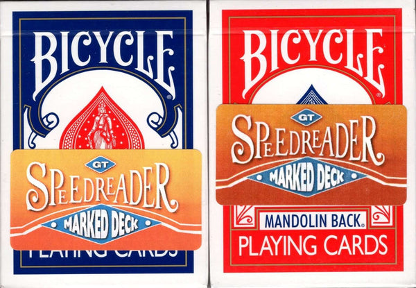 Speed Reader Marked Mandolin Bicycle Playing Cards