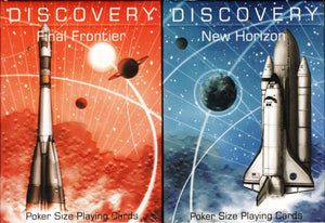Discovery New Horizon Playing Cards Poker Size Deck WJPC Custom Limited New
