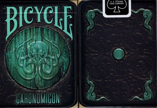 Cthulhu Cardnomicon Bicycle Playing Cards