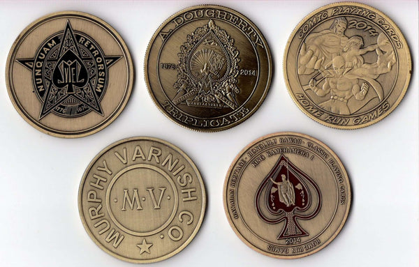 "2"" Dealer Coins by Home Run Games"