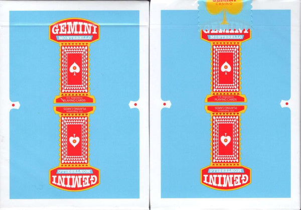 Gemini Casino Vegas Blue Playing Cards USPCC
