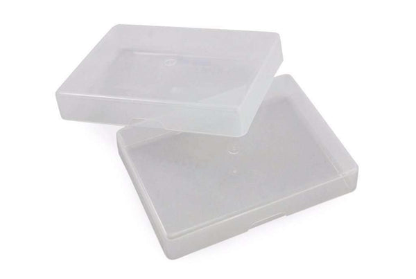 Clear Plastic Box for Regular Sized Playing Cards in Tuck Case for $.99 - PlayingCardDecks.com