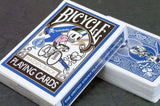 Tokidoki Blue Maiden Back Bicycle Playing Cards Deck:PlayingCardDecks.com