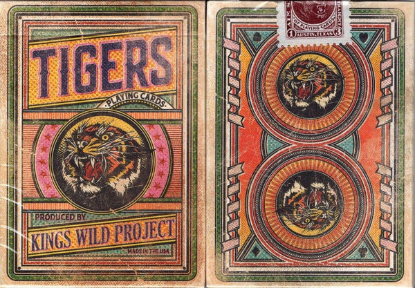 Tigers Kings Wild Project Playing Cards USPCC