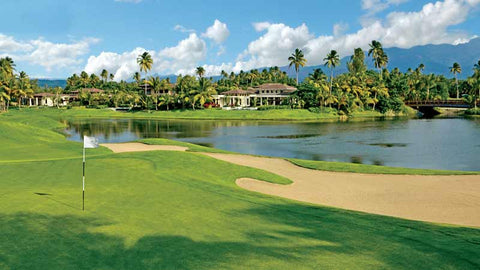 Bahia Beach 18th green