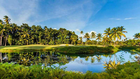 Bahia Beach Golf Course near Puerto Rico