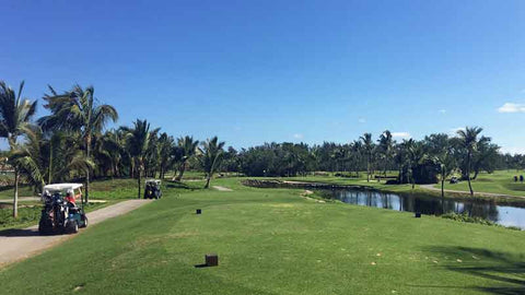 Beautiful conditioned Barcelo Lakes Golf Course