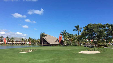 Barcelo Lakes golf finishing hole