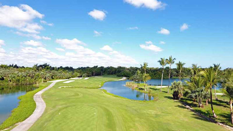 Barcelo Lakes Golf Course Punta Cana Dominican Republic