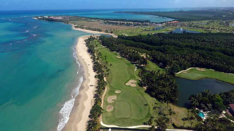 Aerial Shot of Bahia Beach Golf Course