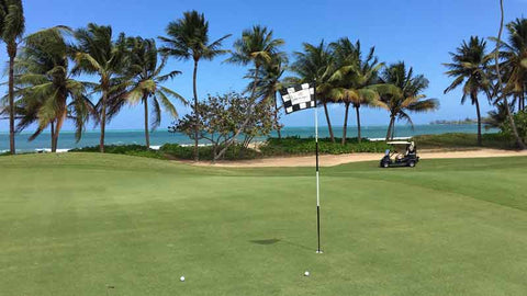 Bahia Beach Golf Course has 3 ocean holes