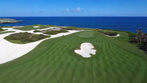 Corales Golf Course Punta Cana with 6 ocean holes