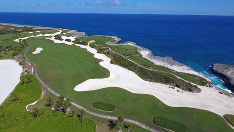 The amazing views at Corales Golf Course in Dominican Republic