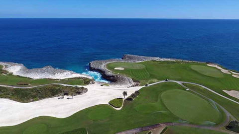 Golf Corales in Punta Cana and experience amazing ocean golf
