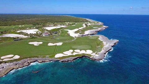 Corales Golf Courses signature ocean holes