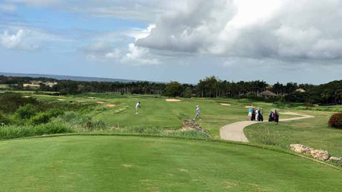 "Casa de Campo ""Dye Fore"" golf resort in Dominican Republic"